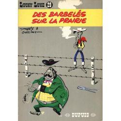 Lucky Luke - Volume N° 29 - Des barbelés sur la prairie