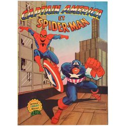 Captain America et Spiderman